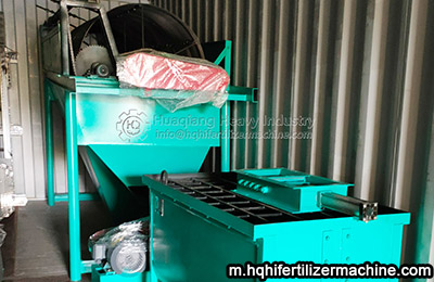 New type roller extrusion fertilizer production line exported to Nigeria